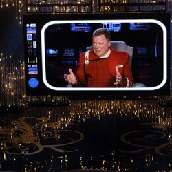 William Shatner en los Oscar 2013