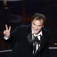 Quentin Tarantino recoge el Oscar a Mejor Guión Original por 'Django desencadenado'