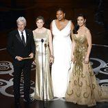 El equipo de 'Chicago' en los Oscar 2013