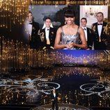 Michelle Obama presenta en los Oscar 2013
