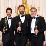El equipo de 'Argo' con su Oscar 2013