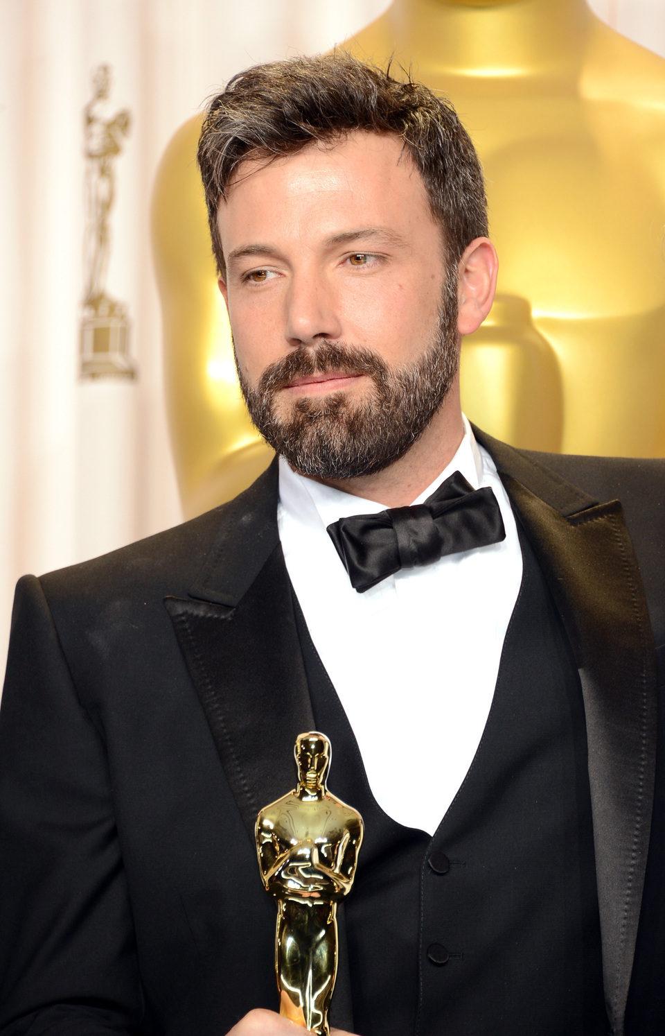 Ben Affleck con su Oscar 2013