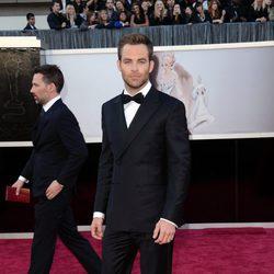 Chris Pine en los Oscars 2013