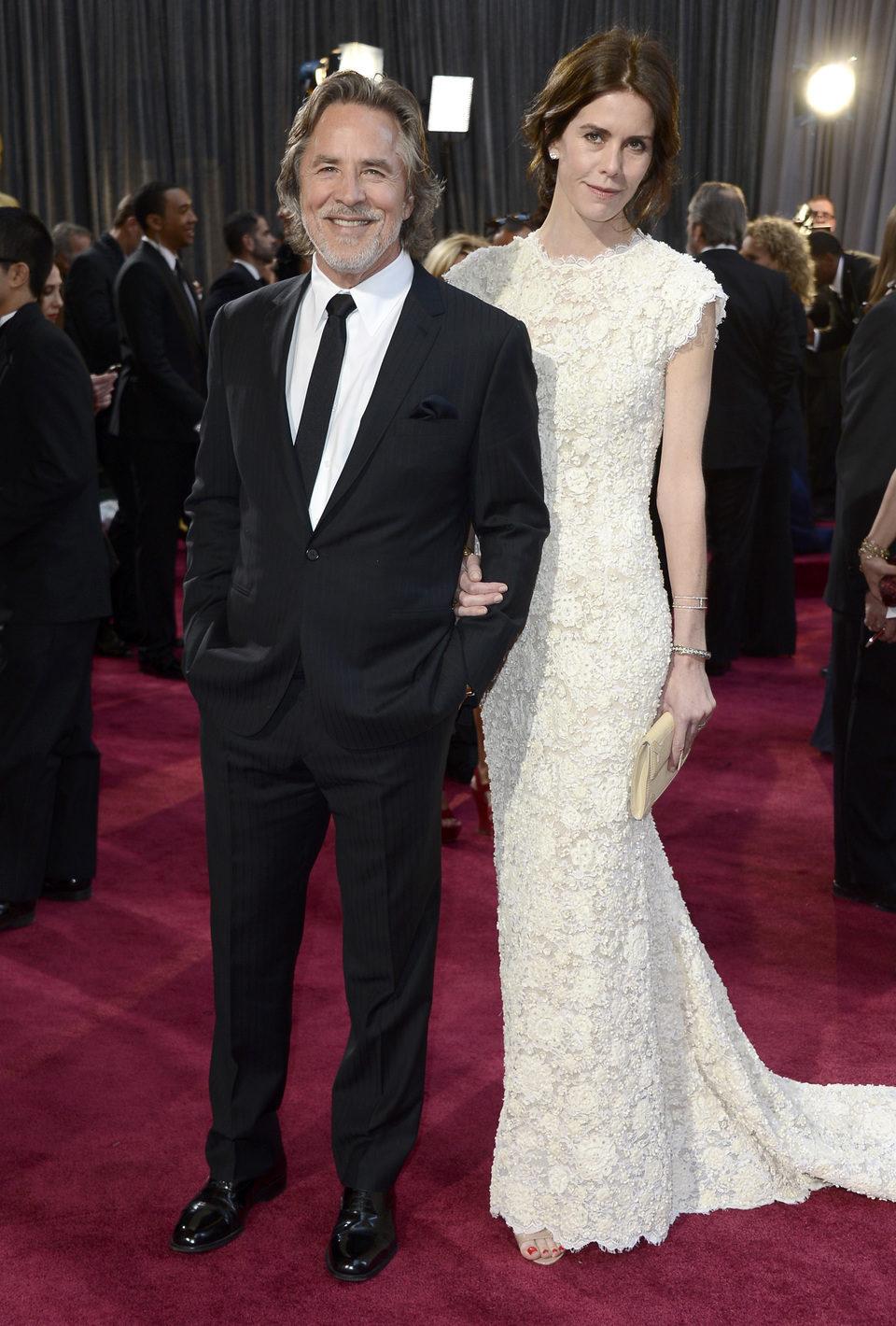 Don Johnson en los Oscar 2013