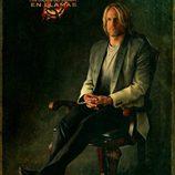Retrato de Haymitch Abernathy en 'Los Juegos del Hambre: En llamas'