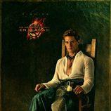 Retrato de Finnick Odair en 'Los Juegos del Hambre: En llamas'