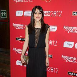 Macarena García en la alfombra roja de los Fotogramas de Plata 2012