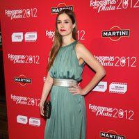 Katia Klein en la alfombra roja de los Fotogramas de Plata 2012