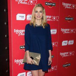 Kira Miró en la alfombra roja de los Fotogramas de Plata 2012