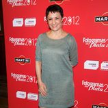 Blanca Portillo en la alfombra roja de los Fotogramas de Plata 2012