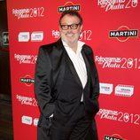 Pablo Carbonell en la alfombra roja de los Fotogramas de Plata 2012