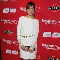 Adriana Ugarte en la alfombra roja de los Fotogramas de Plata 2012