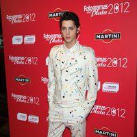 Eduardo Casanova en la alfombra roja de los Fotogramas de Plata 2012