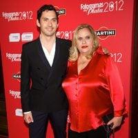 Carmina Barrios y Paco León en la alfombra roja de los Fotogramas de plata 2012