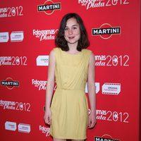 Nadia de Santiago en la alfombra roja de los Fotogramas de Plata 2012