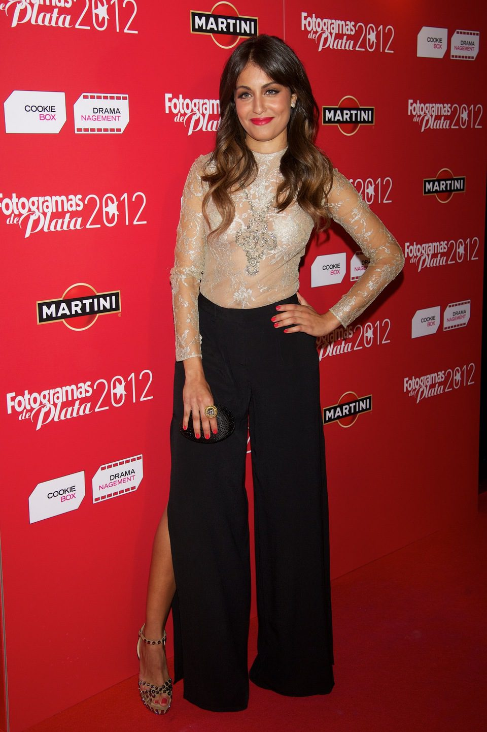 Hiba Abouk en la alfombra roja de los Fotogramas de Plata 2012