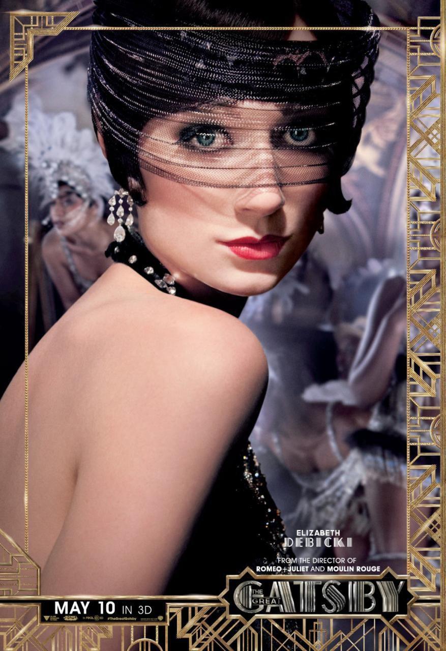 Elizabeth Debicki en 'El gran Gatsby'