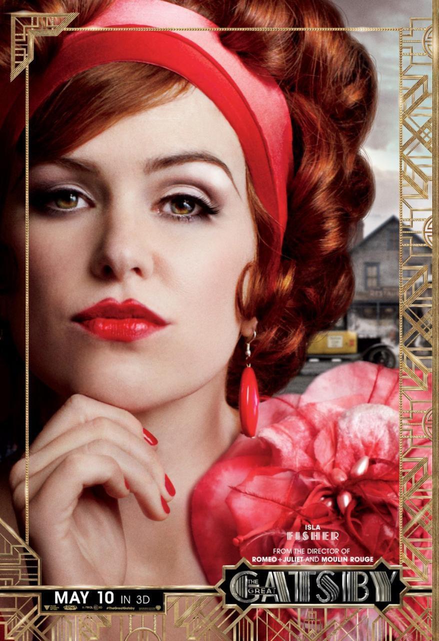 Isla Fisher en 'El gran Gatsby'