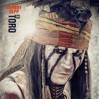 Johnny Depp es Toro en 'El llanero solitario'