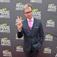Paul Feig en la alfombra roja de la entrega de los MTV Movie Awards 2013