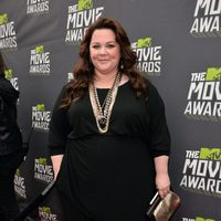 Melissa McCarthy en la alfombra roja de la entrega de los MTV Movie Awards 2013