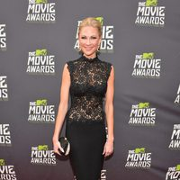 Desi Lydic en la alfombra roja de la entrega de los MTV Movie Awards 2013