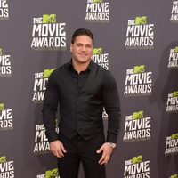 Ronnie Ortiz-Magro en la alfombra roja de la entrega de los MTV Movie Awards 2013
