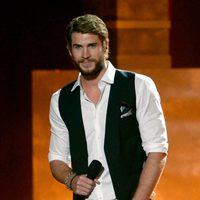 Liam Hemsworth en los MTV Movie Awards 2013