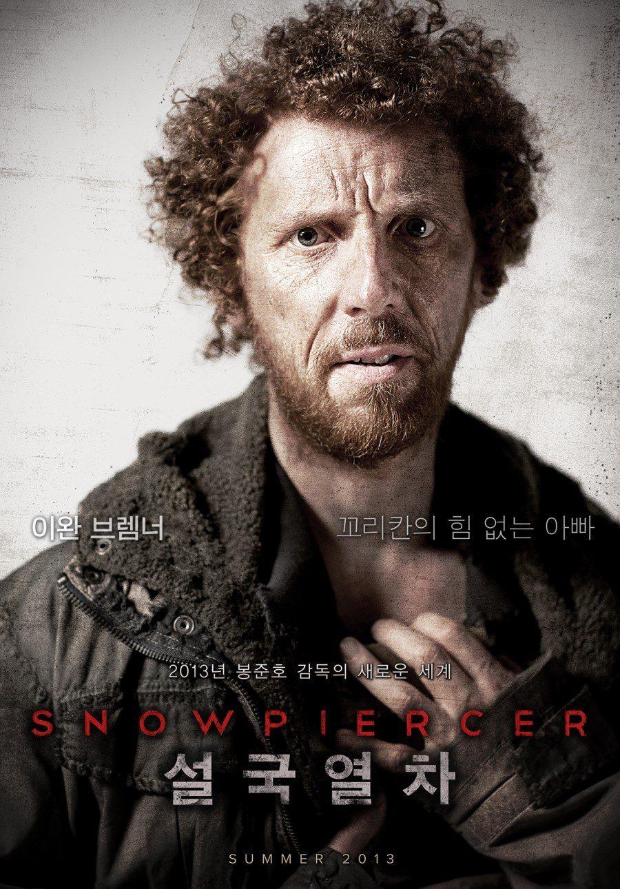 Ewen Bremner es Andrew en 'Snowpiercer'