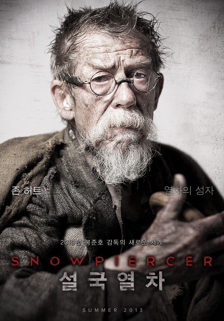 John Hurt es Gilliam en 'Snowpiercer'