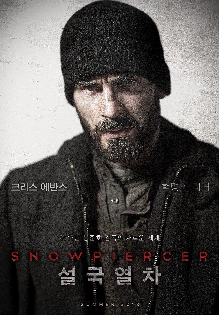 Chris Evans es Curtis en 'Snowpiercer'