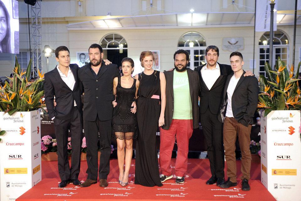 Alex González, Alberto Ammann, María Castro y Carlos Jean en el 16 Festival de Cine de Málaga 2013