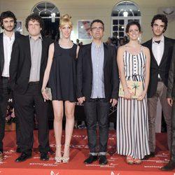 Posado en grupo en 16 Festival de Cine de Málaga 2013