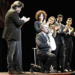 José Coronado agradeciendo su Premio Málaga SUR 2013