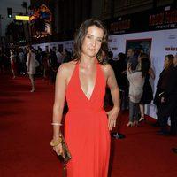 Cobie Smulders en el estreno mundial de 'Iron Man 3' en Los Ángeles