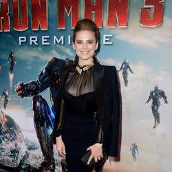 Hayley Atwell en el estreno mundial de 'Iron Man 3' en Los Ángeles