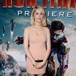 Yvonne Zima en el estreno mundial de 'Iron Man 3' en Los Ángeles