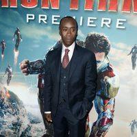 Don Cheadle en el estreno mundial de 'Iron Man 3' en Los Ángeles
