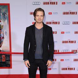 Sebastian Stan en el estreno mundial de 'Iron Man 3' en Los Ángeles