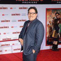 Jon Favreau en el estreno mundial de 'Iron Man 3' en Los Ángeles