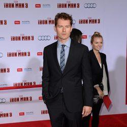 James Badge Dale en el estreno mundial de 'Iron Man 3' en Los Ángeles