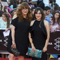 Isabel Coixet y Candela Peña en la clausura del Festival de Málaga 2013