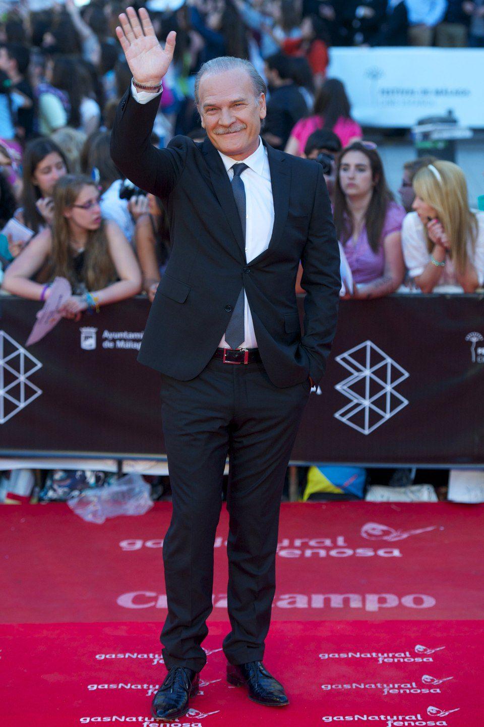 Lluís Homar en la clausura del Festival de Málaga 2013
