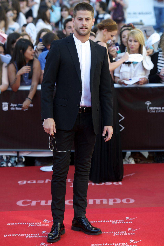 Luis Fernandez en la clausura del Festival de Málaga 2013