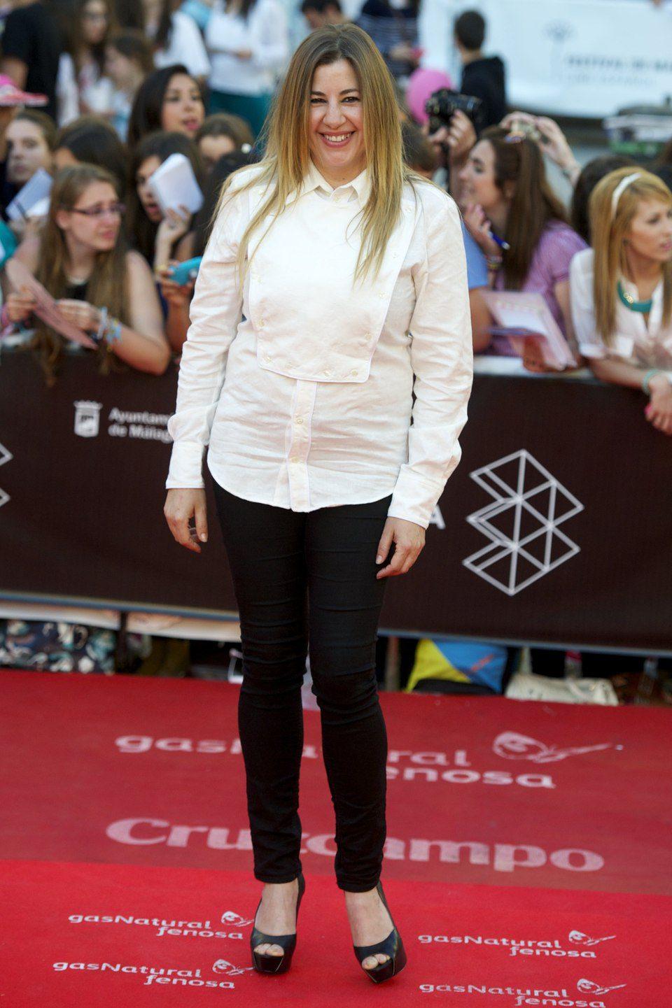 Pepa Charro en la clausura del Festival de Málaga 2013