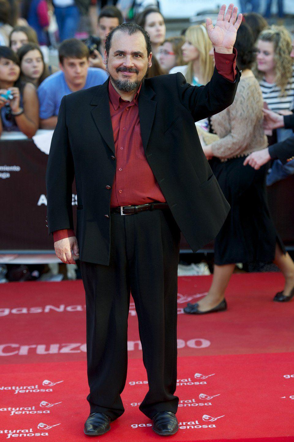 Joaquín Núñez en la clausura del Festival de Málaga 2013