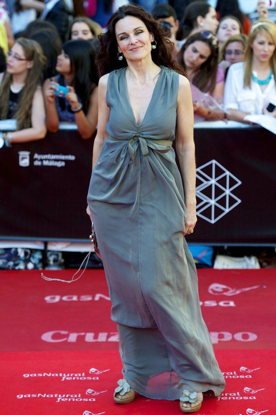Silvia Marsó en la clausura del Festival de Málaga 2013