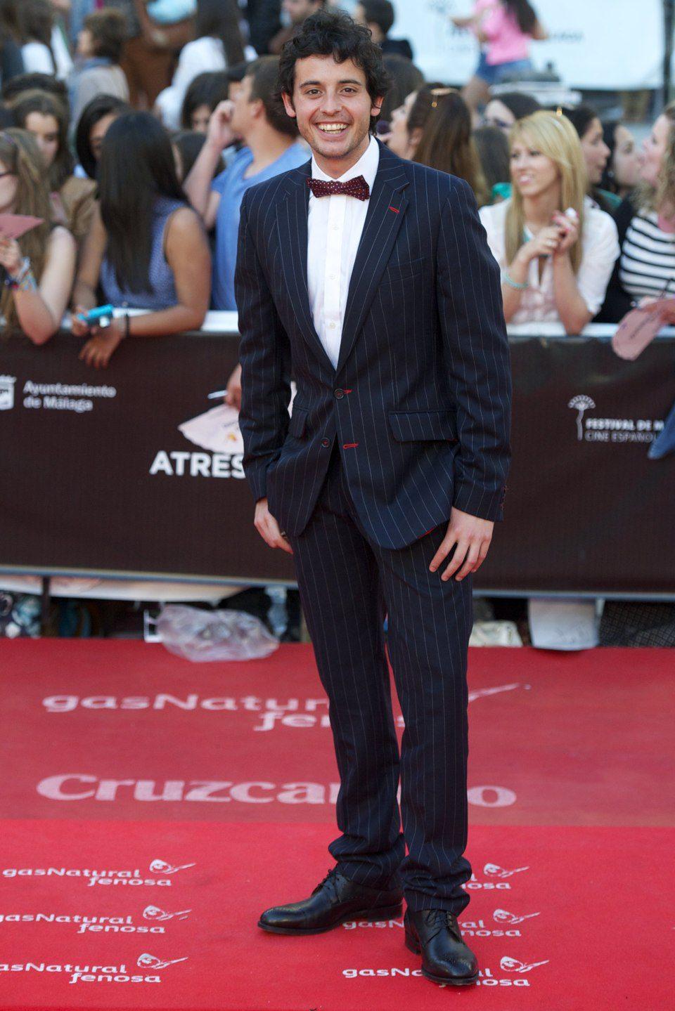 Javier Pereira en la clausura del Festival de Málaga 2013