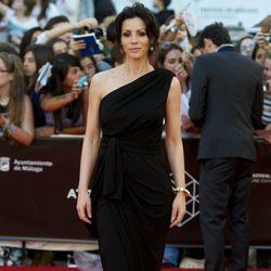 Ana Álvarez en la clausura del Festival de Málaga 2013
