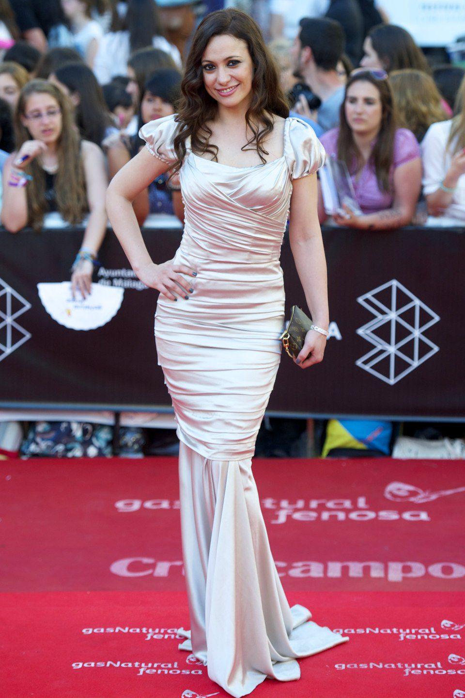 Natalia Verbeke en la clausura del Festival de Málaga 2013